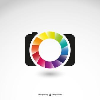 Entreprise de photographie logo icône