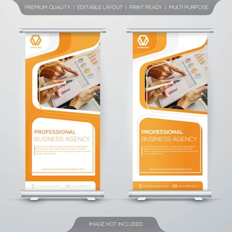 Entreprise roll up banner