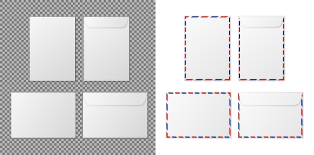 Enveloppe a4 enveloppes blanches en papier blanc pour documents verticaux et horizontaux