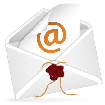Enveloppe de courrier électronique