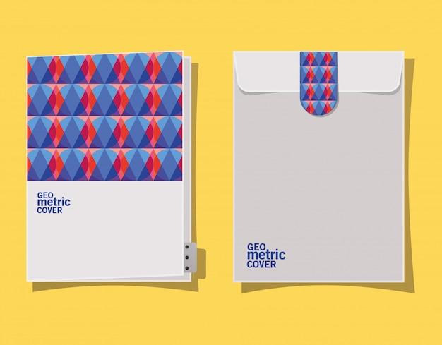 Enveloppe et fichier de couverture géométrique