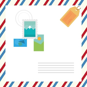 Enveloppe de service postal