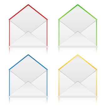 Enveloppes ouvertes