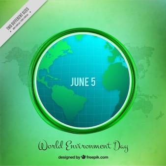 Environnement mondial moderne day background