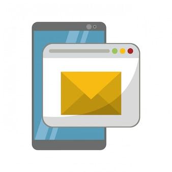 Envoi de smartphone et d'email depuis le site