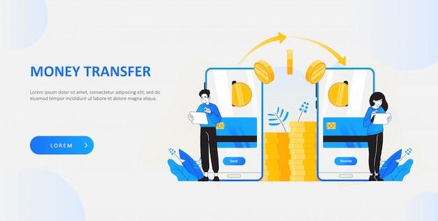 Envoyer de l'argent avec une application mobile