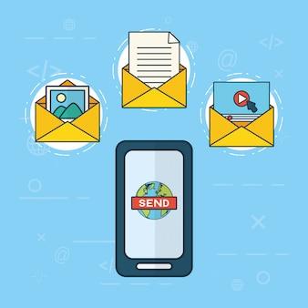 Envoyer un concept email