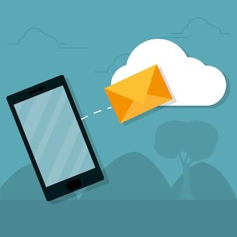 Envoyer un e-mail depuis un smartphone