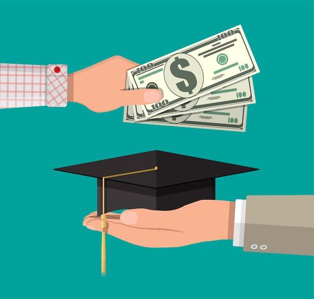 Épargne-études et concept investmet
