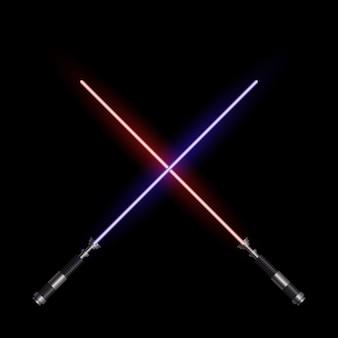 Épées de lumière réalistes
