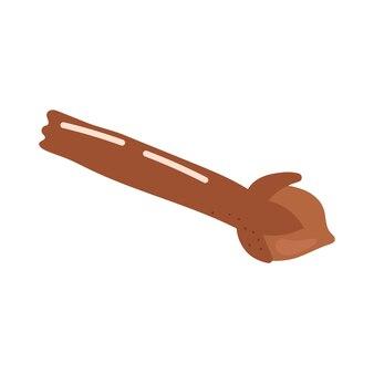 Épice de clou de girofle vecteur dessiné à la main