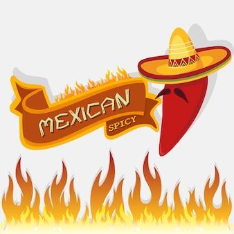 Épicé mexicain