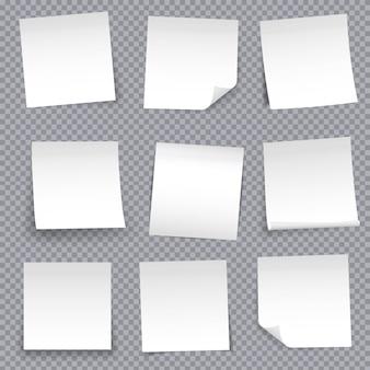 Épinglette autocollante en papier pour note ruban adhésif collant.