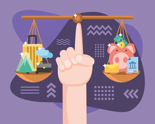 Équilibrer argent et voyage