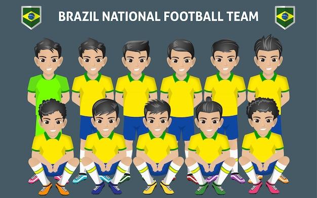 Équipe de football du brésil