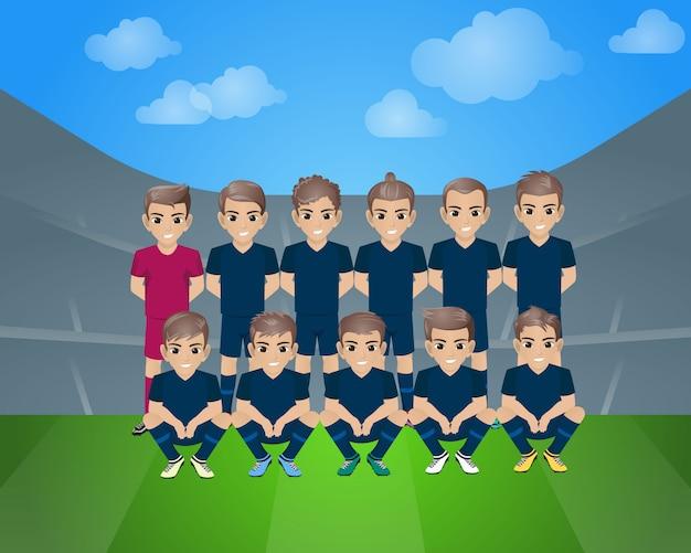 Équipe de football de grenade