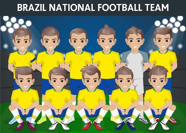 Équipe nationale de football du brésil