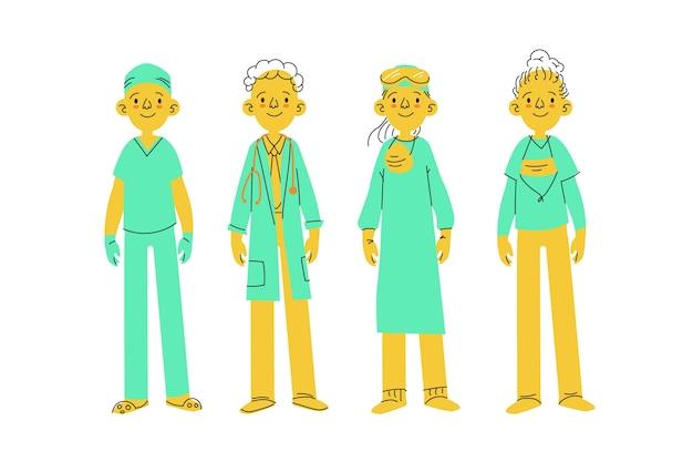 Équipe de professionnels de la santé