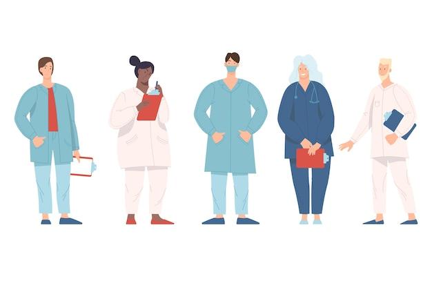 Équipe de soins de santé et de médecine