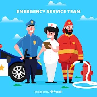 Équipe d'urgence