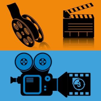 Équipement de cinéma film film banner