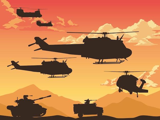 Équipement de combat de guerre