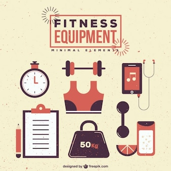 Équipement de conditionnement physique rétro