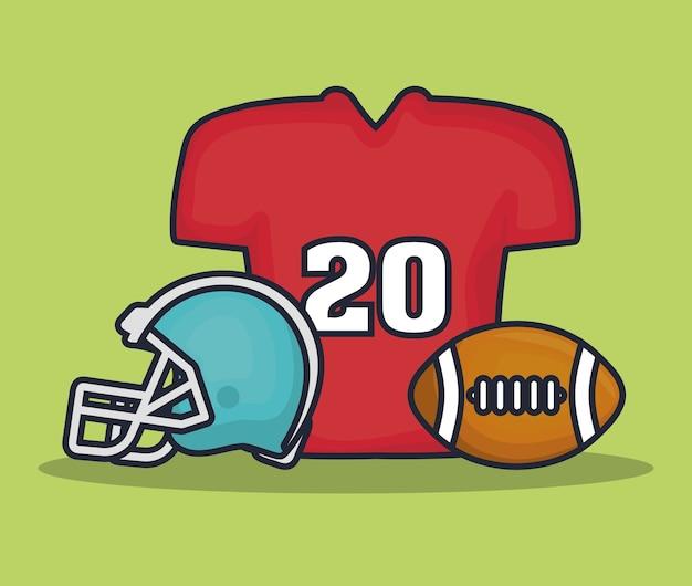 Équipement de football américain