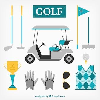 L'équipement de golf