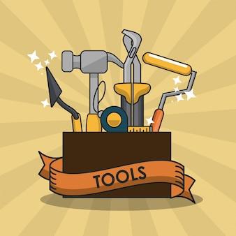 Équipement d'outils de construction