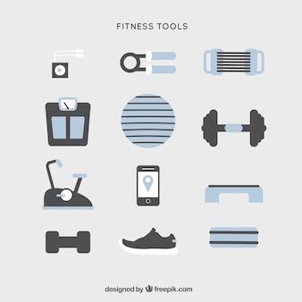 L'équipement d'outils sporty