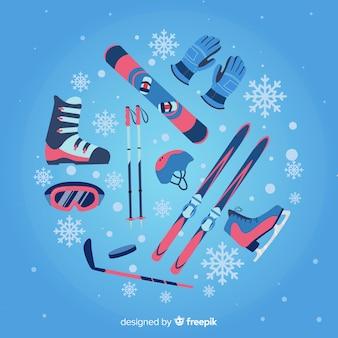 Équipement de sport d'hiver