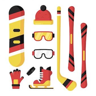 Equipement de sport d'hiver