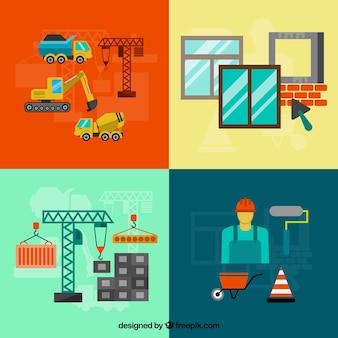 Les équipements de construction