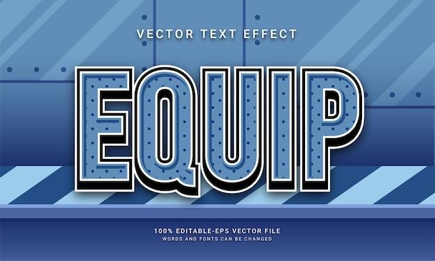 Équiper un effet de texte modifiable avec le thème de la machine
