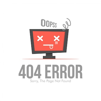 Erreur 404 mise en page