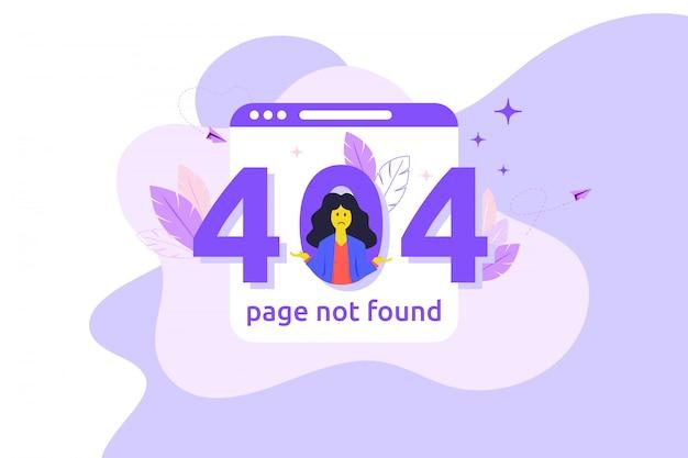 Erreur 404 page web indisponible. fichier non trouvé.