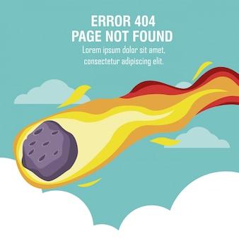 Erreur 404 thème météorite