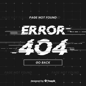 Erreur d'erreur 404