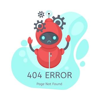 Erreur de page non trouvée 404.