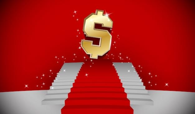 Escalier au dollar