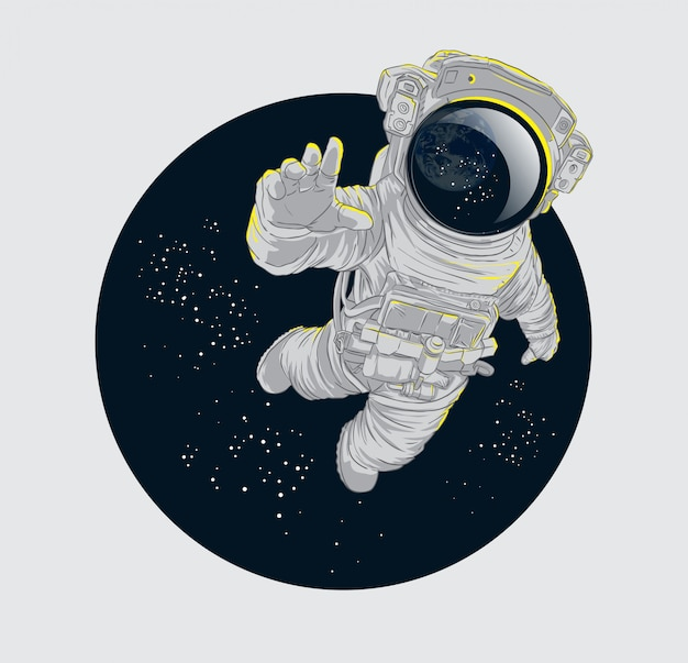 Espace astronaute