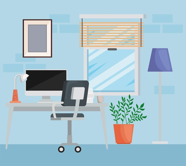 Espace bureau à domicile