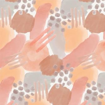 Espace de copie de modèle aquarelle abstraite