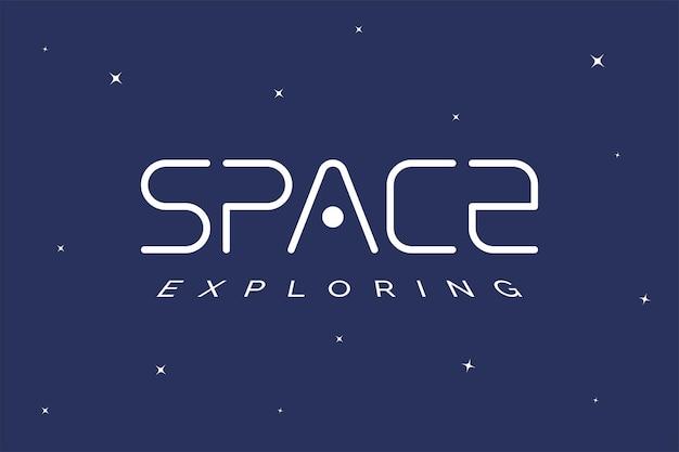 Espace exploration logo concept galaxie exploration entreprise logotype modèle univers voyage marque symbole