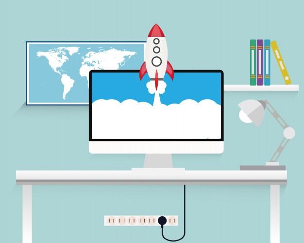 Espace de travail technologie de démarrage