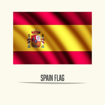 Espagne conception de drapeau