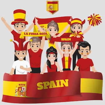 Espagne equipe nationale supporter