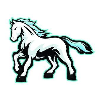 Esport du cheval blanc