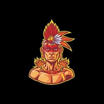 Esport guerrier tribu